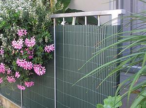 PVC Sichtschutzmatte