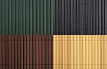 PVC Sichtschutzmatten Farbauswahl